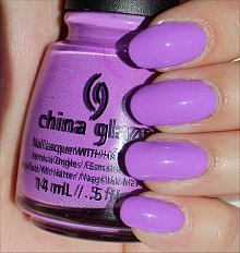 China Glaze That's Shore Bright Swatches & Review