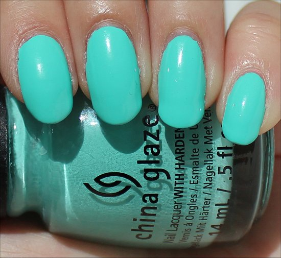 China Glaze Too Yacht to Handle Review & Swatches