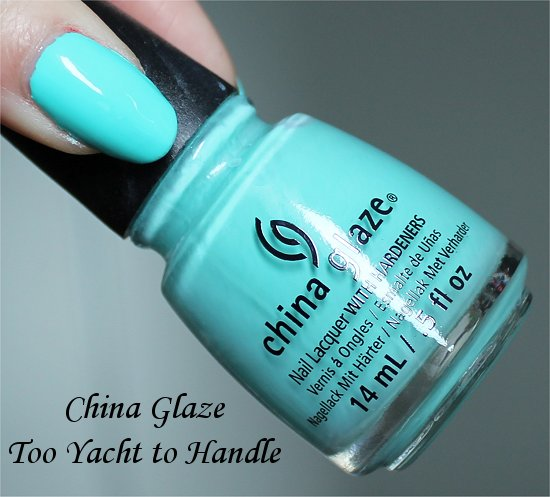 China Glaze Too Yacht to Handle Sunsational Review