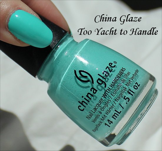 China Glaze Too Yacht to Handle Sunsational