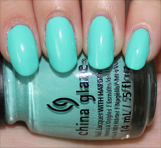 China Glaze Too Yacht to Handle Swatch & Photos