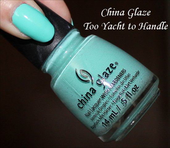 China Glaze Too Yacht to Handle Swatch, Pictures & Review