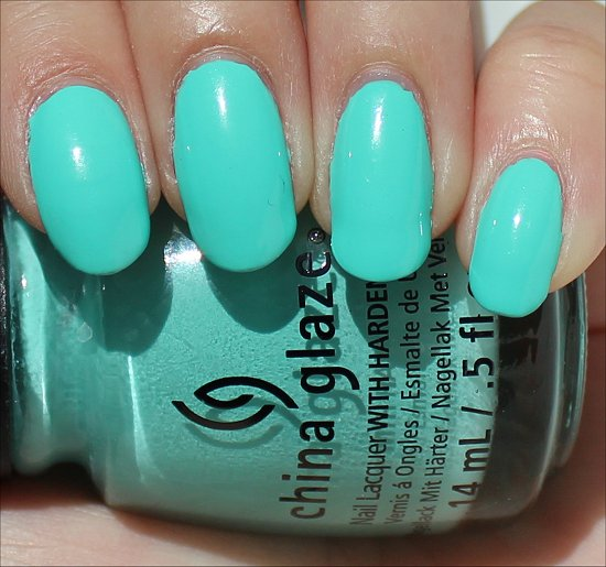 China Glaze Too Yacht to Handle Swatch & Review
