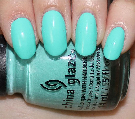 China Glaze Too Yacht to Handle Swatch