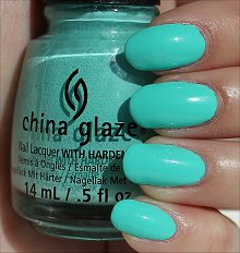 China Glaze Too Yacht to Handle Swatches & Review
