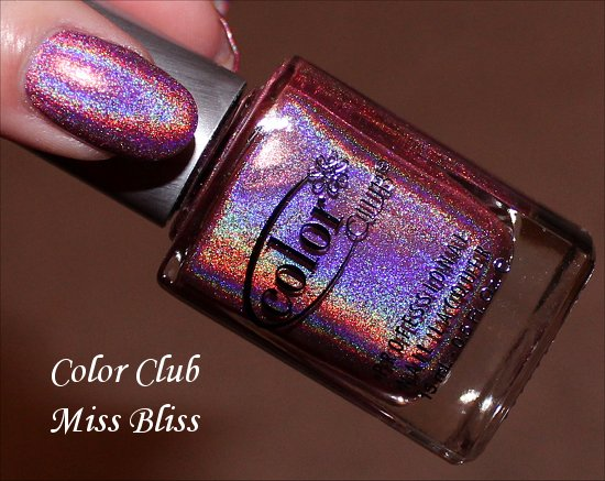 Color Club Miss Bliss Review