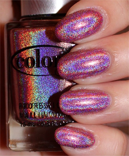 Color Club Miss Bliss Swatches & Review