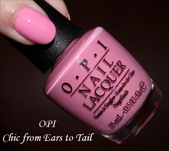 Couture de Minnie OPI Chic from Ears to Tail