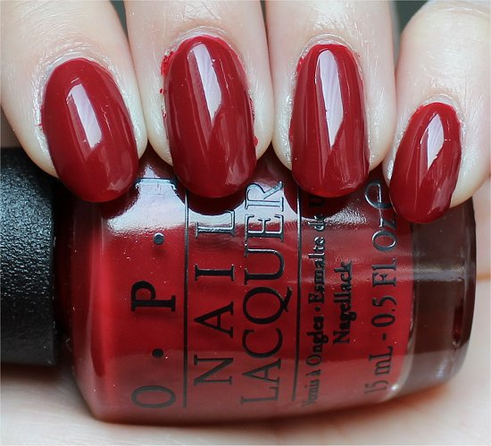 First Date at the Golden Gate by OPI San Francisco Collection Swatches