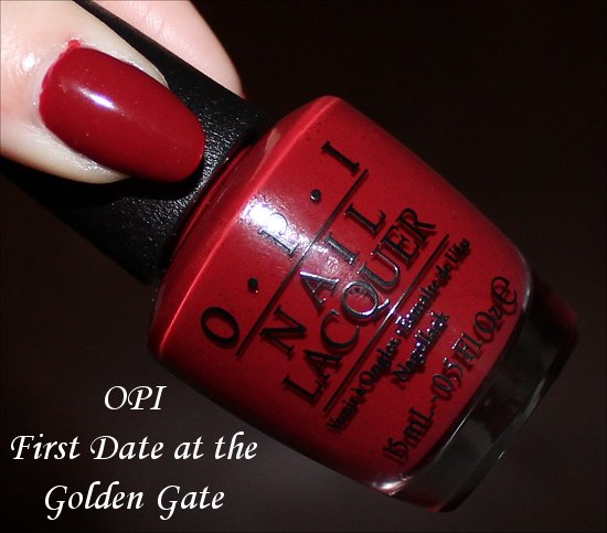 First Date at the Golden Gate by OPI San Francisco Collection