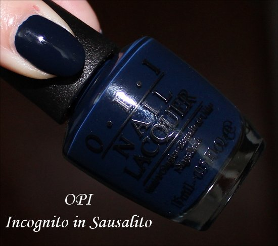 Incognito in Sausalito OPI San Francisco