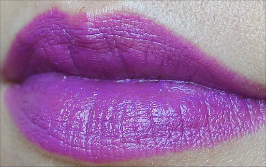 MAC Heroine Lipstick Swatch MAC Fashion Sets Collection