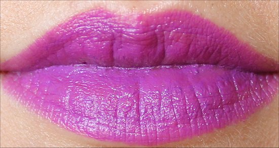 MAC Heroine Lipstick Swatch, Photos & Review