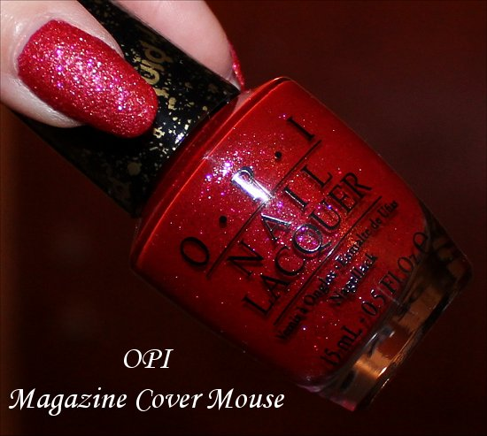 Magazine Cover Mouse OPI Couture de Minnie Collection