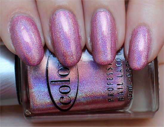 Miss Bliss Swatch Color Club Halo Hues