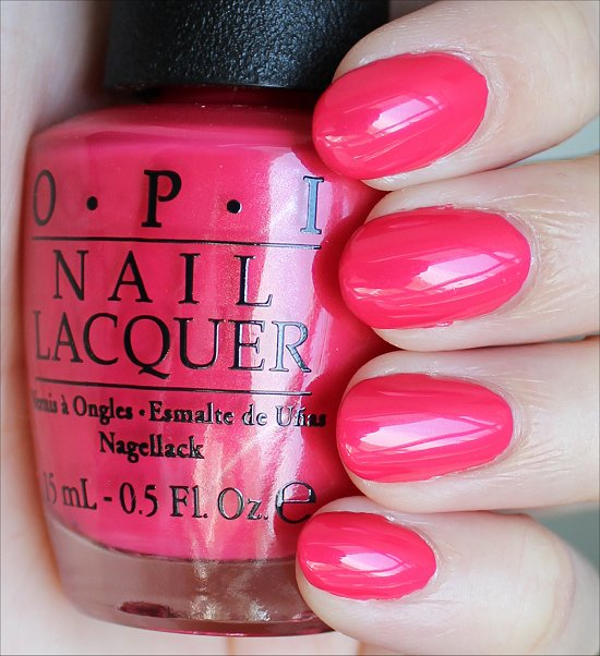 OPI A Definite Moust-Have Swatches & Review