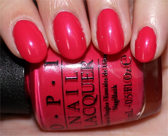OPI A Definite Moust-Have Swatches