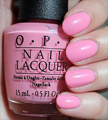 Opi Chic From Ears To Tail Swatches Review While Crazy Nail Polish Shades Intimidate Some People Bubblegum Pink