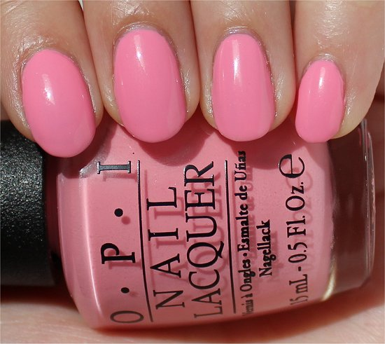 OPI Couture de Minnie Chic from Ears to Tail Swatch