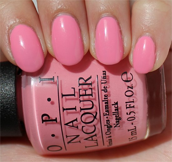 OPI Couture de Minnie Chic from Ears to Tail Swatches