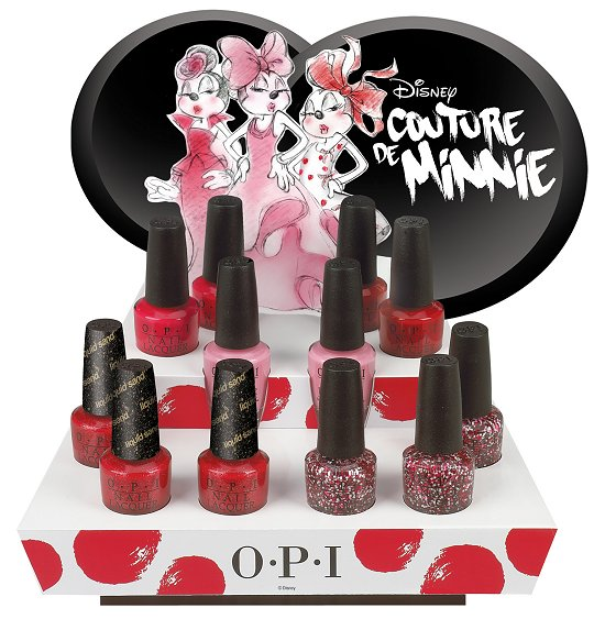 OPI Couture de Minnie Collection Press Release & Promo Pictures