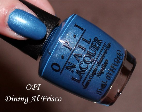 OPI Dining Al Frisco OPI San Francisco Collection Fall Winter 2013