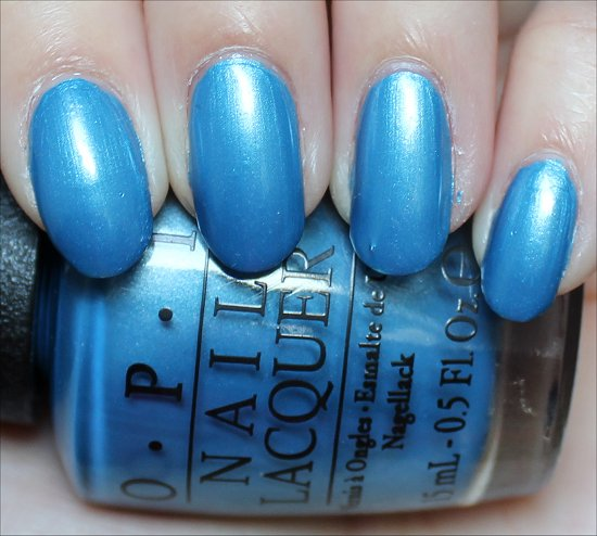 OPI Dining Al Frisco Review & Swatch