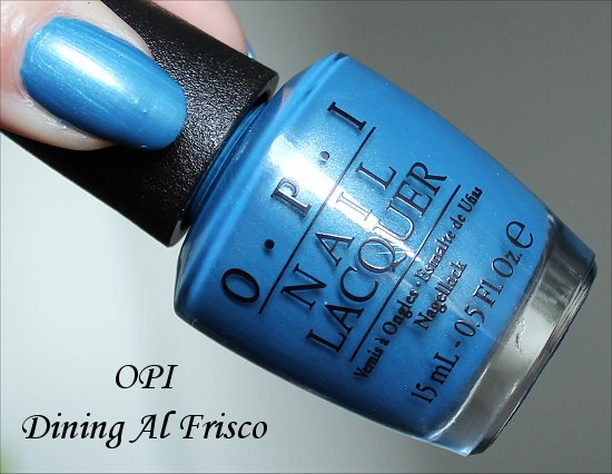 OPI Dining Al Frisco San Francisco Collection 2013