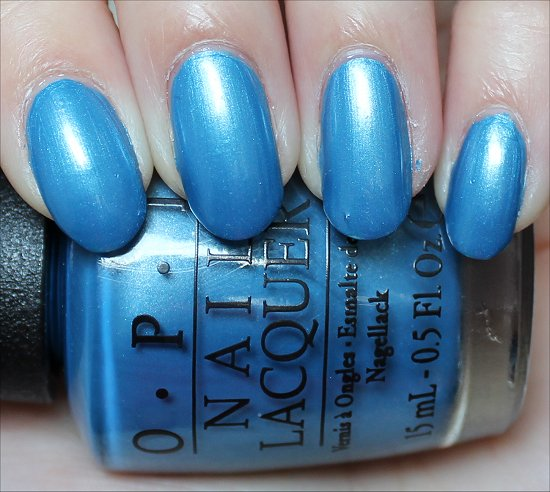 OPI Dining Al Frisco Swatch & Review