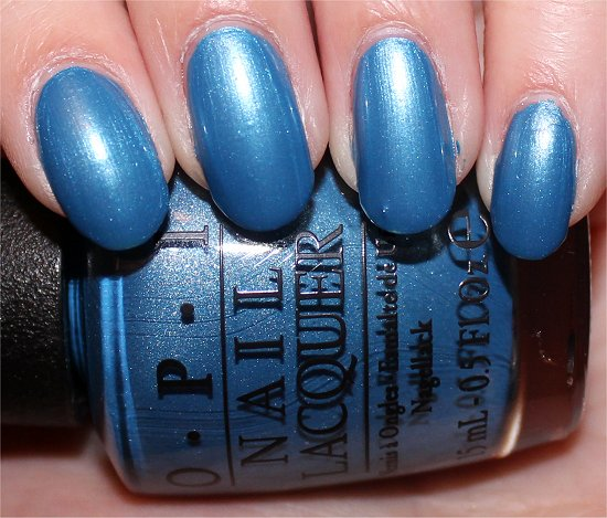 OPI Dining Al Frisco Swatch San Francisco Collection