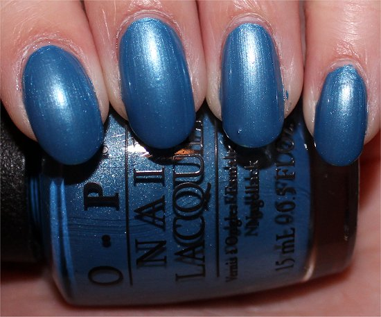 OPI Dining Al Frisco Swatches & Pictures