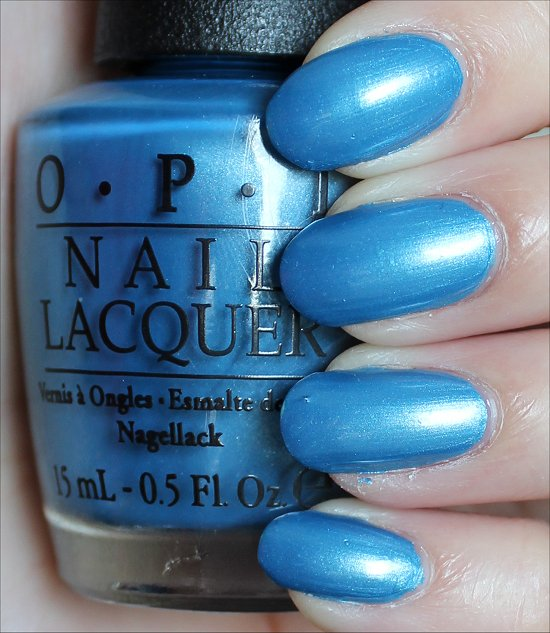 OPI Dining Al Frisco Swatches & Review
