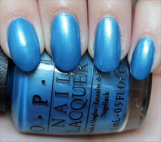 OPI Dining Al Frisco Swatches