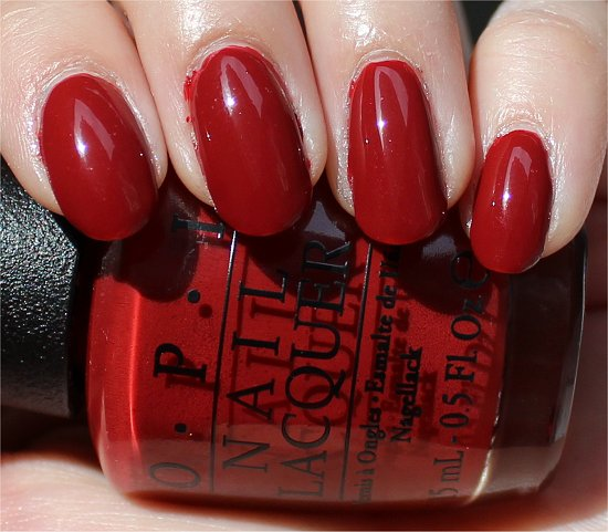OPI First Date at the Golden Gate Review & Swatches