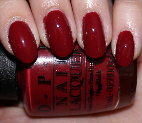OPI First Date at the Golden Gate San Francisco Swatch