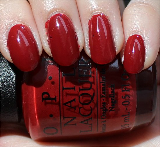OPI First Date at the Golden Gate Swatch & Review