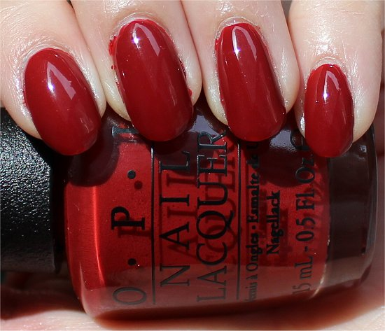 OPI First Date at the Golden Gate Swatch