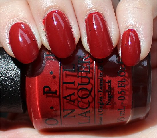 OPI First Date at the Golden Gate Swatches