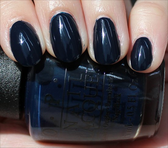 OPI Incognito in Sausalito Swatch