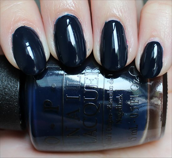 OPI Incognito in Sausalito Swatches