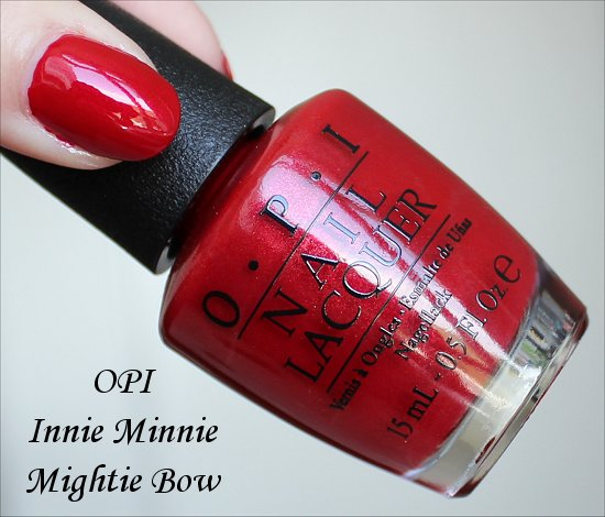 OPI Innie Minnie Mightie Bow Couture de Minnie Collection
