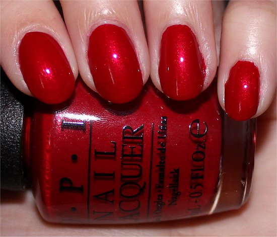 OPI Innie Minnie Mightie Bow Swatches, Review & Photos