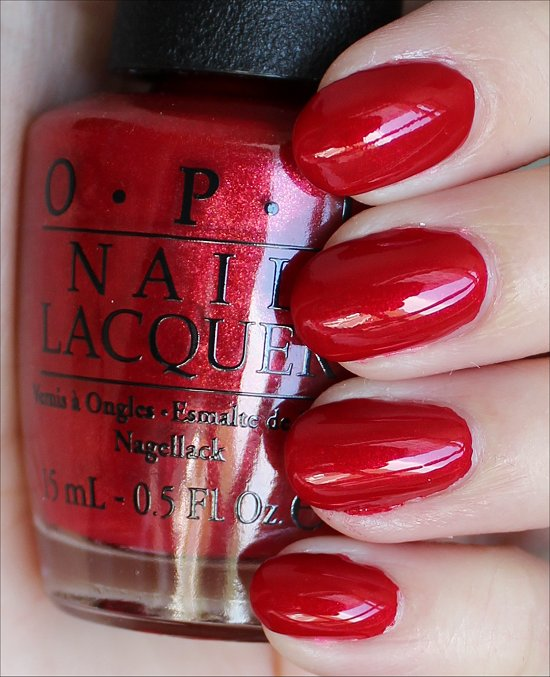 OPI Innie Minnie Mightie Bow Swatches & Review