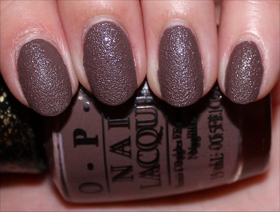 OPI It's All San Andreas's Fault Review, Swatch & Pictures