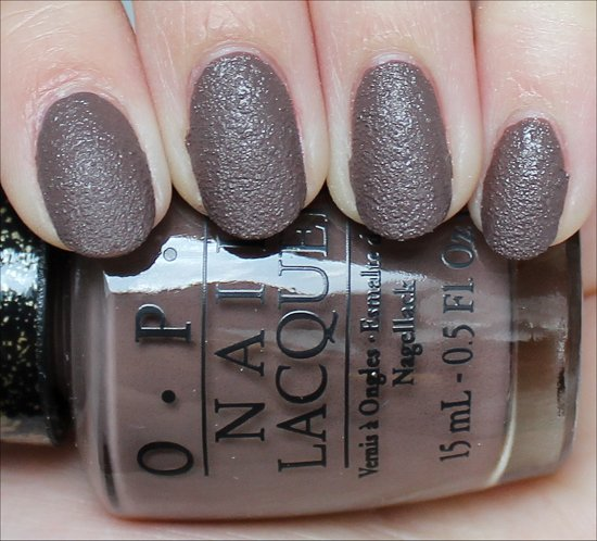 OPI It's All San Andreas's Fault Review & Swatch