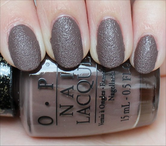 OPI It's All San Andreas's Fault Swatch & Review