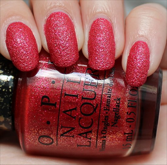 OPI Magazine Cover Mouse Liquid Sand Swatches & Review
