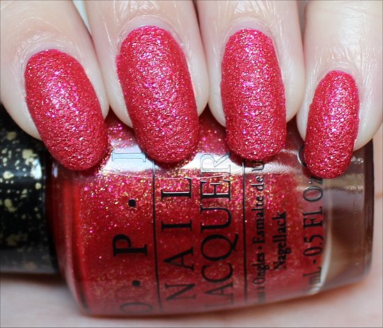OPI Magazine Cover Mouse Review & Swatches