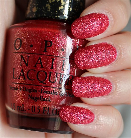 OPI Magazine Cover Mouse Swatches & Review