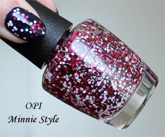 OPI Minnie Style Couture de Minnie Collection